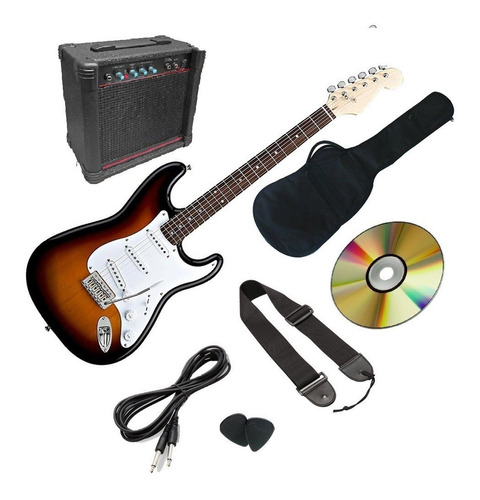 Kit Completo De Guitarra Importado Mod Clasico Mejor Precio