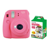 Fuji Instax Mini 9 Polaroid Rosa  20 Fotos Cuotas