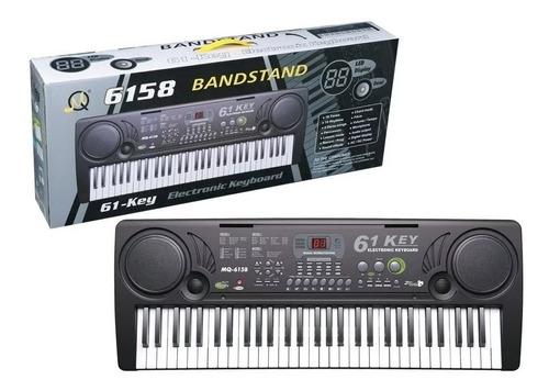Teclado 5 Octavas Piano Stand Band *soy Tienda*