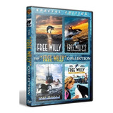Liberen A Willy Free Willy Pack Saga Completa 4 Dvd Colecció