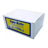 Lâmina Inox Barbear Meia Super Barba 10 Caixas 1.000 Peças