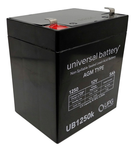 Bateria 12v 5 Amperes Ub1250