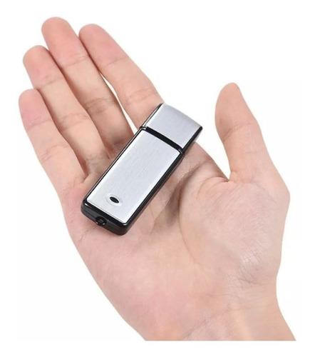 Microfono Espia Usb Spy Grabadora Voz De 8gb Duracion Hasta 19 Horas Graba Conversaciones, Audio De Gogo Electronics