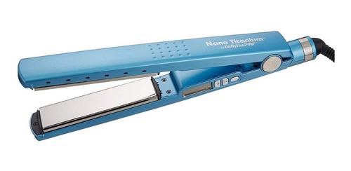 Planchita De Pelo Babyliss Pro Nano Titanium 2091 Babnt2091t Azul 220v