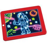 Pizarra Mágica Didáctica Infantil 3d Con Luces Led Niños