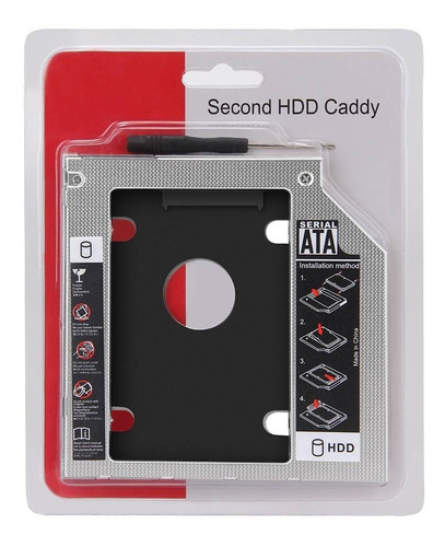 Caddy Adaptador 12.7mm Disco Duro Sata Ssd Hdd