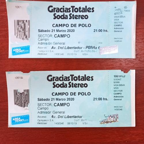 Soda Stereo 2021 Campo