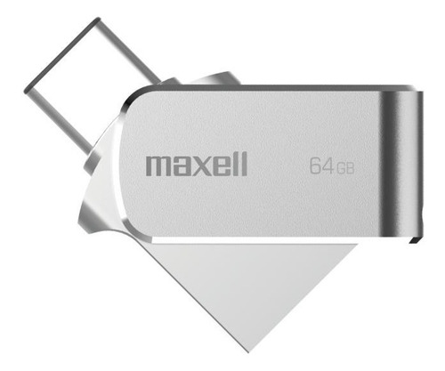 Pendrive Maxell 64gb Usb 3.0 Otg Conector Tipo C