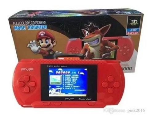 Consola Portatil Videojuegos Pvp Retro 3000 Juegos Game Niño