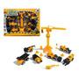 Kit Carrinhos Trucks De Construção - Construtor Mini Truck Original