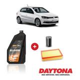 Cambio De Aceite Semi-sintético Y Filtros P/ Gol Trend 10w40