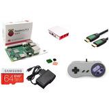 Kit Retro Mini Raspberry 3b Consola 64gb +18.600 Juegos