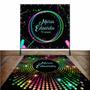 Kit Festa Neon Painel + Tapete 15 Anos Personalizado Original