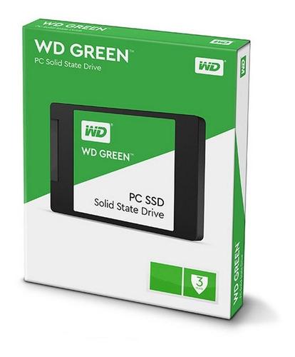 Disco Solido Ssd 120gb Western Digital Green Wd Sata 3 Gtia