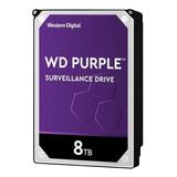 Disco Duro Interno Western Digital Wd Purple Wd82purz 8tb Púrpura