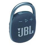 Parlante Jbl Clip 4 Portátil Con Bluetooth Blue