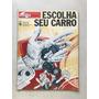 Revista Suplemento Quatro Rodas 256 Fichas Tecnicas S558 Original
