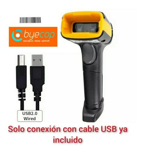 Escáner Código De Barras 1d Y 2d Uso Rudo Y Súper Rapido