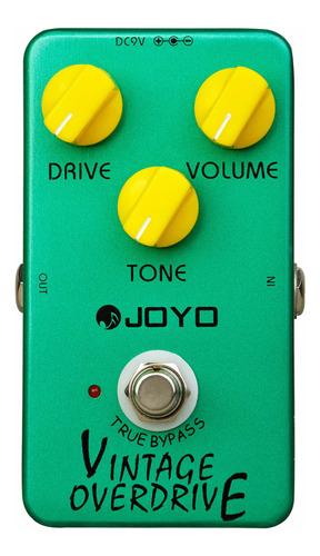 Pedal Joyo Vintage Overdrive Jf-01 Nuevo