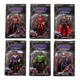 Muñecos Articulados Avengers Infinity War Thanos Hulk Ironma