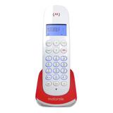Teléfono Inalámbrico Motorola M750 Rojo