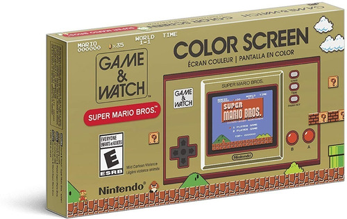 ..:: Consola Game And Watch Super Mario Bros ::.. Nintendo