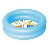 Pileta Inflable Redonda Bestway Kiddie Lounge 51061 De 61cm X 15cm 21l Color Azul