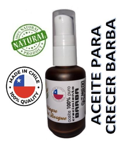Aceite Para Hacer Crecer La Barba Con Eucalipto  30 Ml