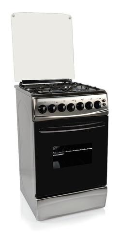Cocina Delne Te-5631 I Inoxidable Combinada 3+1+ Forzador