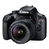 Canon Eos Rebel Kit T100 + Lente 18-55mm Iii Dslr Cor  Preto