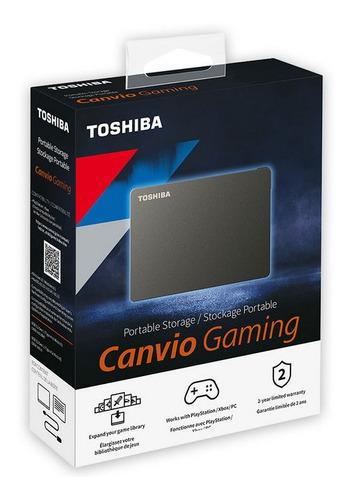 Disco Duro Externo Toshiba 4tb Gamer - Zonaportatil