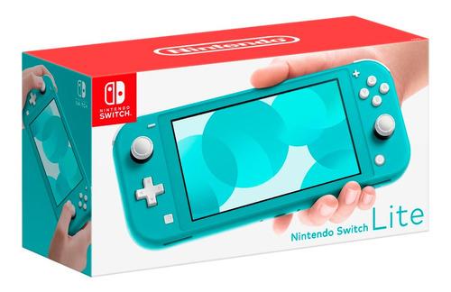 Consola Nintendo Switch Lite Turquesa - Ccstore