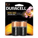 Pilas C Duracell Alcalinas Mediana 1,5v Mn1400b2 Blister X2
