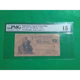 Billete Antiguo Argentina 1897, Certificado Buen Estado.