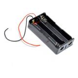Porta Pila Holder Bateria Pilas 18650 Para 2 Baterias