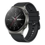 Huawei Watch Gt 2 Pro Sport 1.39  Caja 46.7mm De  Titanio  Night Black Malla  Black De  Fluoroelastómero Vid-b19