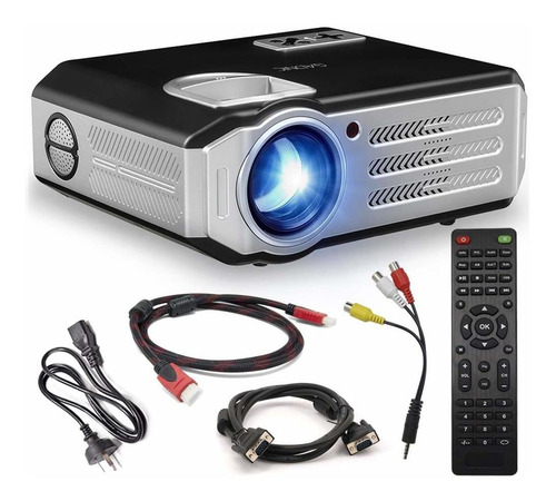 Proyector Wifi 4000l Android Led Hd Hdmi Vga Usb Home Cinema