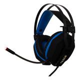 Fone De Ouvido Gamer Headset Luz Led Rgb Pro Usb 7.1 Tedge