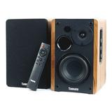 Alto-falante Tomate Mts-2026 Com Bluetooth Preto 110v/220v
