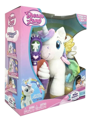 My Unicorn Dream Land Peluche Unicornio Magico Con Luz Lelab