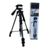 Tripode Profesional Canon Nikon 1,50 + Estuche
