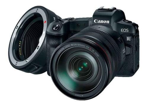 Cámara Canon Eos R Lente Rf 24-105mm F4 L Is Usm C Adaptador
