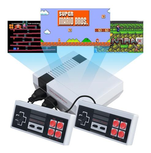 Mini Consola Retro 268 En 1 Juegos Clasicos 2 Controles