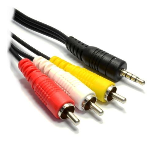 Cable Audio Video Rca Macho A Plug 3.5 Mm