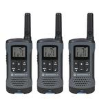 Radios De Comunicación Motorola T200 Pack X 3 Boquitoquis