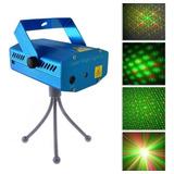 Laser Lluvia Multipunto Dj Luz Fiesta Audiorítmica Colores