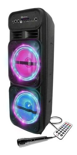 Parlante Bluetooth Inalambrico Karaoke Usb Sd + Microfono
