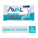 Jabón Aval Limpieza 3x120g