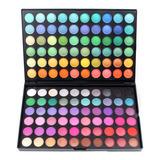 120 Colores Paleta De Sombras Larga Duración Maquillaje