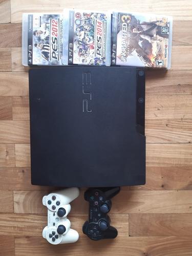 Sony Playstation 3 Slim - 320gb + Juegos Digitales